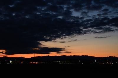soku_08268.jpg :: 秩父 風景 自然 空 雲 日暮れ