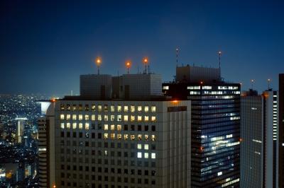 soku_08443.jpg :: 建築 建造物 高層ビル 新宿 夜景
