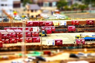 soku_08933.jpg :: 乗り物 交通 鉄道 貨物列車 ミニチュア風