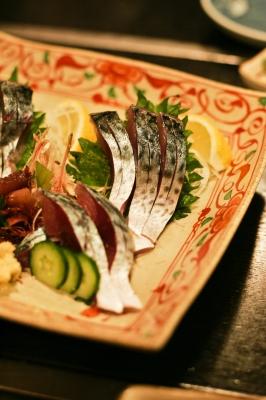 soku_08970.jpg :: 鯖復活祈願 鯖 食べ物 和食 刺身 寿司