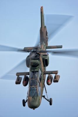 soku_09154.jpg :: 乗り物 交通 航空機 ヘリコプター 陸上自衛隊 AH-1 コブラ