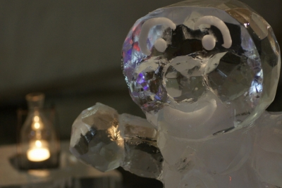 soku_09200.jpg :: 芸術 アート オブジェ モニュメント 氷 アンパンマン