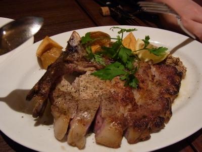 soku_09290.jpg :: 食べ物 洋食 肉料理 ポークソテー