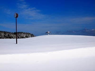 soku_09577.jpg :: 風景 自然 雪景色 空 青空