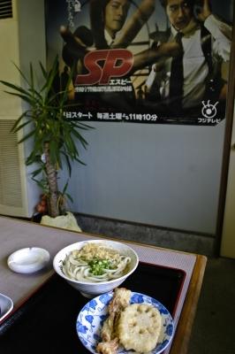 soku_09592.jpg :: 食べ物 麺類 うどん 天ぷらうどん