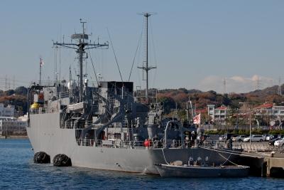 soku_09615.jpg :: 海上自衛隊 AGS.5104 わかさ Wakasa 内火艇