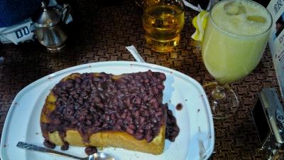 soku_09730.jpg :: 食べ物 お菓子 デザート スイーツ あずきパン