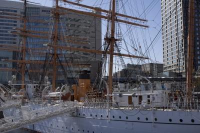 soku_09760.jpg :: NEX7_2 乗り物 交通 船 帆船 日本丸 横浜みなと博物館