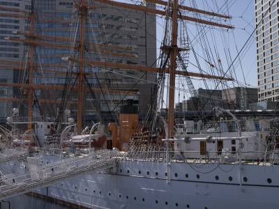 soku_09761.jpg :: GX1_2 乗り物 交通 船 帆船 日本丸 横浜みなと博物館