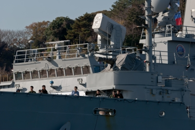 soku_09809.jpg :: 乗り物 交通 船 軍艦 韓国海軍 補給艦 AOE.57 Chonji 天地(チョンジ)