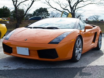 soku_09817.jpg :: 乗り物 交通 自動車 スポーツカー スーパーカー Lamborghini