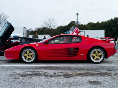 soku_09819.jpg :: 乗り物 交通 自動車 スポーツカー スーパーカー Ferrari