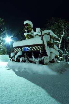 soku_09858.jpg :: 乗り物 交通 自動車 特殊車両 除雪車 (ロータリ式放雪形)