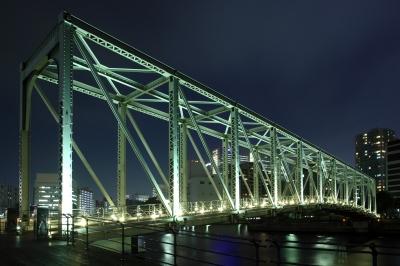 soku_09920.jpg :: 建築 建造物 橋 夜景