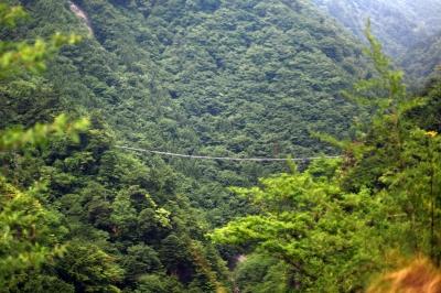 soku_09927.jpg :: 風景 自然 山 建築 建造物 橋 吊り橋