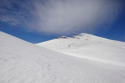 soku_10061.jpg :: 風景 自然 雪景色 雪山 空