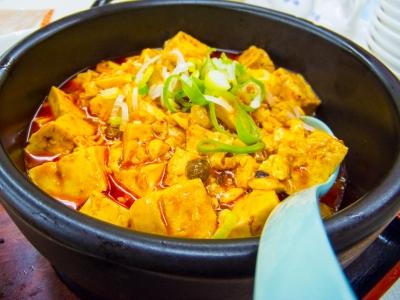 soku_10067.jpg :: 食べ物 中華 麻婆豆腐
