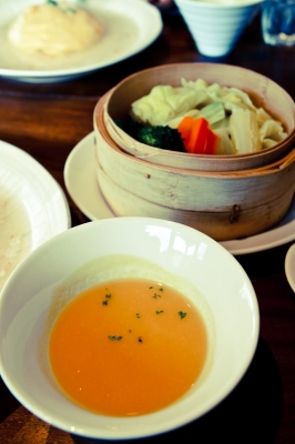 soku_10073.jpg :: 食べ物 昼食 ランチ 中華 スープ