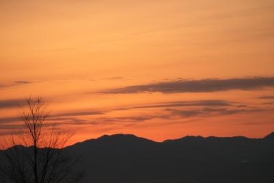 soku_10077.jpg :: 風景 自然 空 朝日 朝焼け 日の出