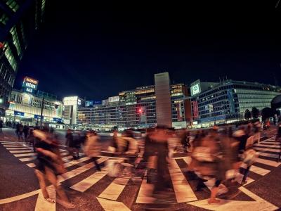 soku_10096.jpg :: 風景 街並み 都市の風景 夜景 新宿