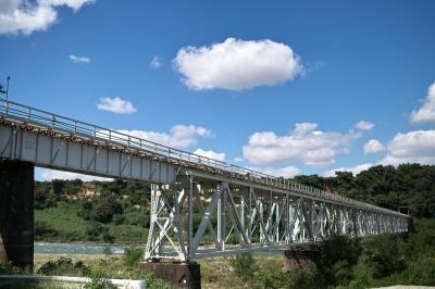 soku_10155.jpg :: 乗り物 交通 鉄道 建築 建造物 橋 鉄橋