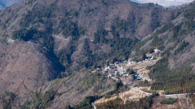 soku_10173.jpg :: α900 風景 街並み 郊外の風景 山村 山里 集落 限界集落