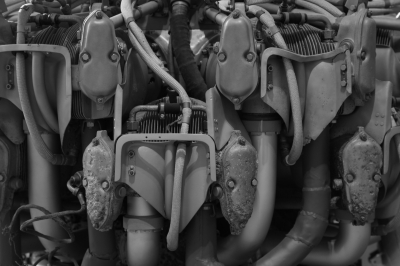 soku_10240.jpg :: 乗り物 交通 航空機 飛行機 エンジン 零戦 ゼロ戦 レシプロエンジン
