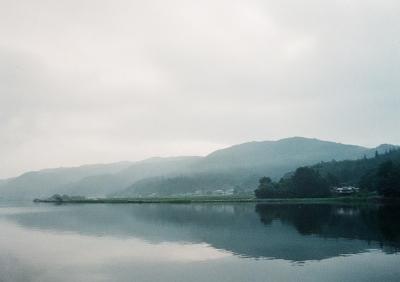 soku_10473.jpg :: 風景 自然 霧 霞 朝靄 フィルム 銀塩