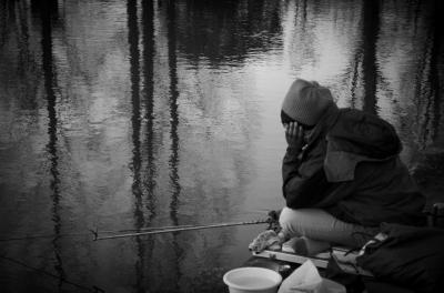 soku_10749.jpg :: 風景 自然 池 水面 釣り 釣れないぉ