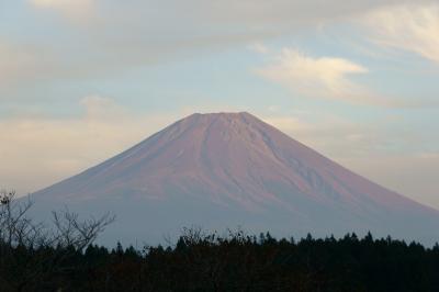 soku_10990.jpg :: 風景 自然 山 富士山 赤富士