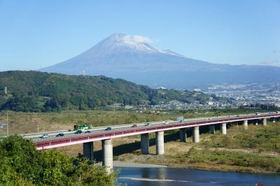 soku_11053.jpg :: 建築 建造物 橋 風景 自然 山 富士山