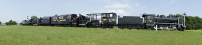 soku_11180.jpg :: 乗り物 交通 鉄道 蒸気機関車 パノラマ 高解像度