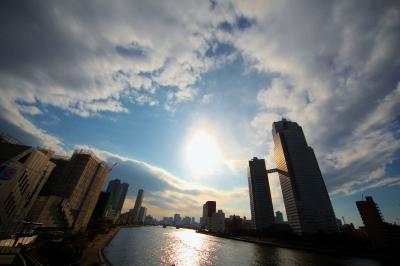 soku_11365.jpg :: 空 雲 ビル 川