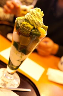 soku_11467.jpg :: 都路里 食べ物 お菓子 デザート スイーツ 冷菓 パフェ