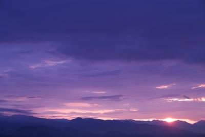 soku_11596.jpg :: 風景 自然 空 朝日 朝焼け 日の出
