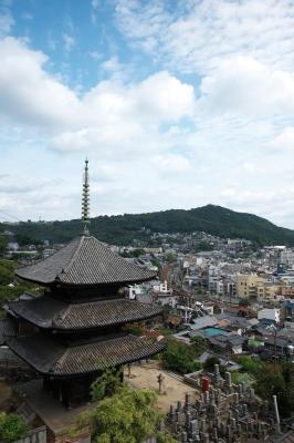 soku_12013.jpg :: 建築 建造物 寺院 三重塔