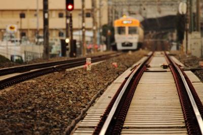soku_12151.jpg :: 乗り物 交通 鉄道 電車 建築 建造物 線路