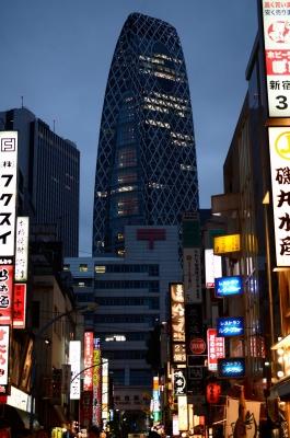 soku_12236.jpg :: 新宿 風景 街並み 都市の風景 繁華街 夜景