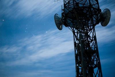 soku_12546.jpg :: 夜景 星空 建築 建造物 塔 鉄塔