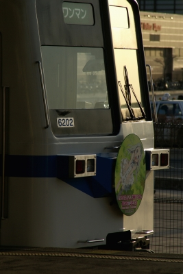 soku_12859.jpg :: 乗り物 交通 鉄道 電車 秩父鉄道 急行秩父路 あの花 あの日見た花の名前を僕たちはまだ知らない めんま 本間芽衣子