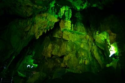 soku_12900.jpg :: 鍾乳洞 風景 自然 山 岩山 あぶくま鍾乳洞