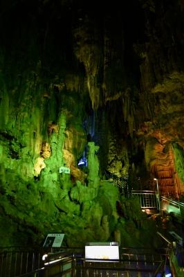 soku_12912.jpg :: 鍾乳洞 風景 自然 山 岩山 あぶくま鍾乳洞