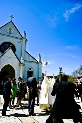 soku_13030.jpg :: 結婚式 ブーケトス 教会