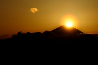soku_13131.jpg :: 風景 自然 山 富士山 ダイヤモンド富士