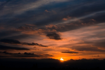 soku_13438.jpg :: 初日の出 2012 風景 自然 空 朝日 朝焼け 日の出 (^_^)