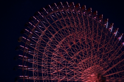 soku_13700.jpg :: 建築 建造物 夜景 観覧車