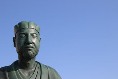 soku_14113.jpg :: 松尾芭蕉 芸術 アート 彫刻 彫像