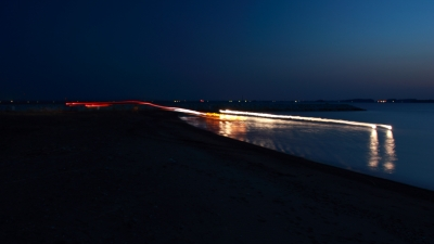 soku_14165.jpg :: 車 風景 街並み 郊外の風景 夜景 スローシャッター