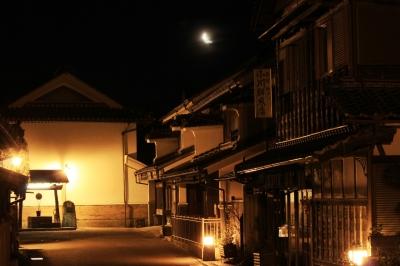 soku_14529.jpg :: 風景 街並み 夜景 月夜
