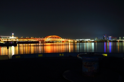 soku_14618.jpg :: 建築 建造物 夜景 橋